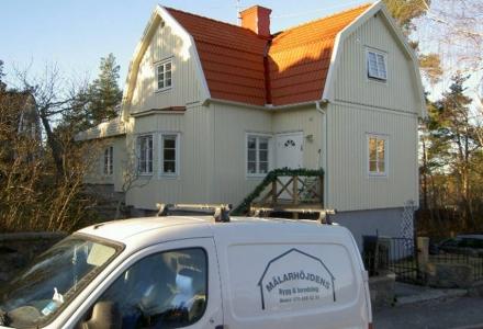 Påbyggnad, tak-, fasad- och invändig renovering 2006, Mälarhöjden
